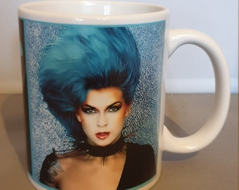 Toyah Good Morning Universe with Toyah in Blue Mug