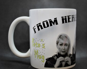 Personalised The Fizz - From Here To Eternity - Mug 10oz