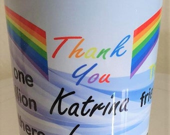Personalised 'Thank You' Mug Design 1