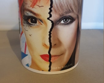 Toyah Then & Now two images of Toyah mug