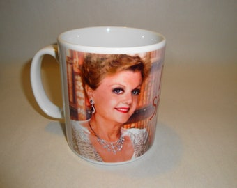 Personalised Murder She Wrote Angela Lansbury Elegant 1 Mug