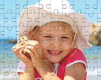 Personalised Jigsaw Puzzle MDF Gloss Wooden Pieces Personalised Gifts
