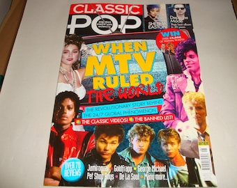 Classic Pop Magazine Apr/May 2017 When MTV Ruled The World Sheena Easton Depeche Mode