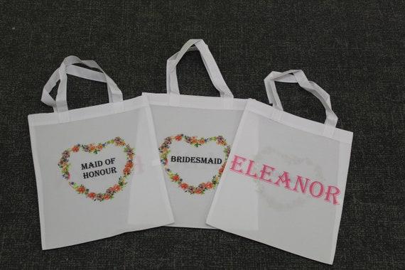 Personalised Tote Bag Short Handle Design 3