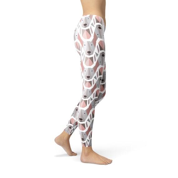 Leggings Leggings Dog Dog Dog Dog Bullterrier Dog Print Yoga Pattern Leggings Terrier Womens Bull Pants Leggings Print Leggings wYvI4qn8