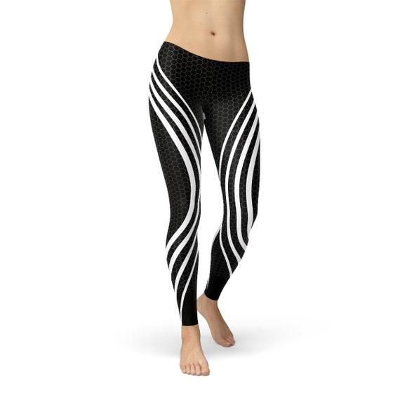 arrives cheapest 50% off Black Venom Women Leggings - Women's Workout Leggings, Women's Yoga Pants,  Black Yoga Leggings, Running Sports Leggings, Black Women Tights