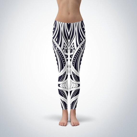 Tattoo culture Tattoos Polynesian Ta Ta Leggings Tribal Moko Tribal New Kiwi Tattoo Print Zealand Tattoos Māori Designs Moko Kiwiana TwwRq4n7A