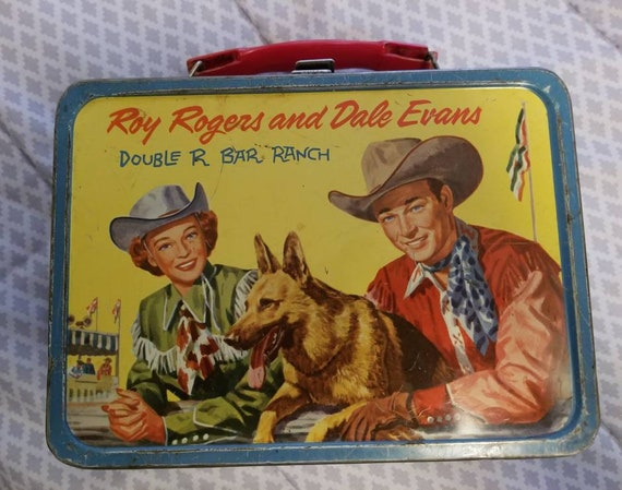 Roy Rogers and Dale Evans Double R Bar Ranch Lunch Box 1957