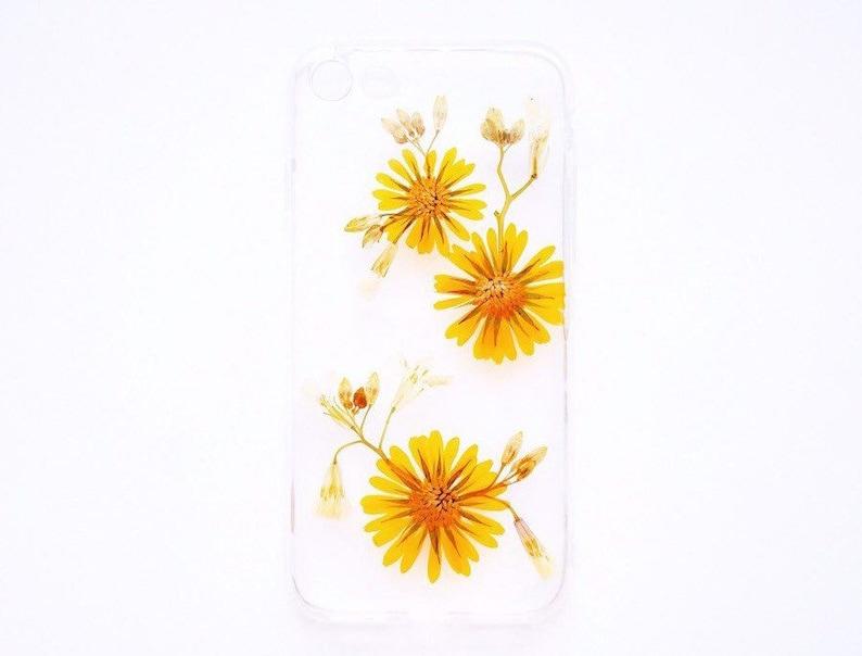 coque iphone xs avec des vrai fleur
