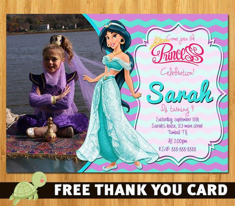 Disney Aladdin Princess Jasmine Birthday Party