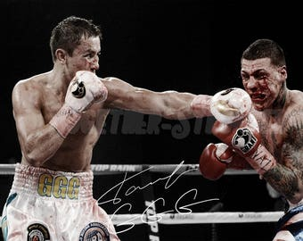 1ec7cbec9c85ed Gennady Golovkin pre signed photo print poster - 12x8 inches (30cm x 20cm)  - Superb quality