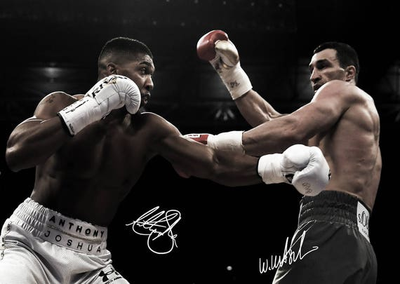 A4 A3 A2 A1 A0| Anthony Joshua Boxing British Athlete Poster Print T495