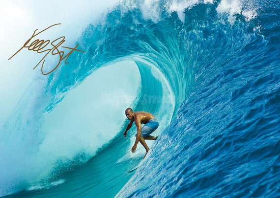 """KELLY SLATER SURFING Poster 24/"""" X 36/"""" NEW 1"""