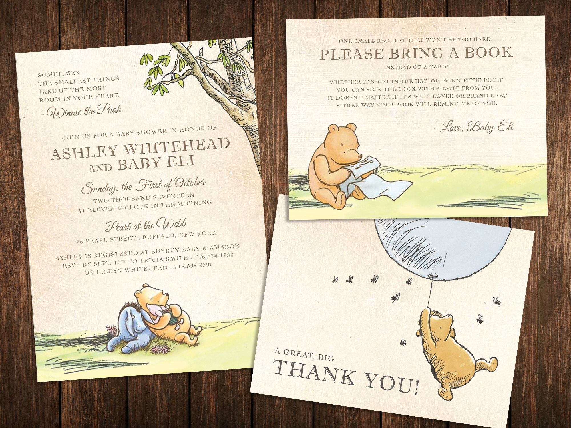 Winnie The Pooh Baby Shower Ideas Games Food Favors