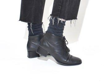 30fafb18134c6 Square toe boot | Etsy