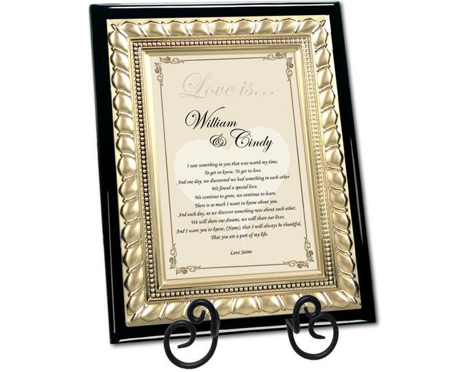 Romantic Love Poetry Plaque Gift Present Birthday Valentine Wife Husband Boyfriend Girlfriend