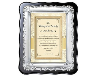 Traditional Personalized Housewarming Gift Plaque New Homeowner Poetry House Present New Home Poem Couple Best Wishes