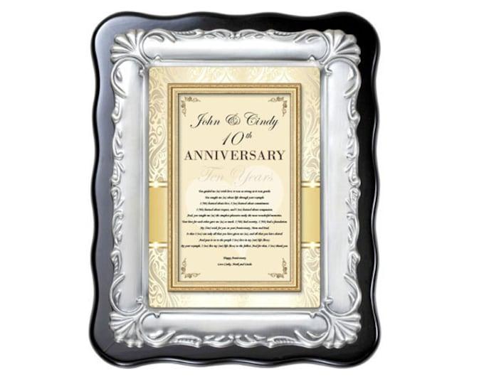 Personalized Anniversary Gift Plaque Love Poem Romantic Present Wife Husband Boyfriend Girlfriend Romance