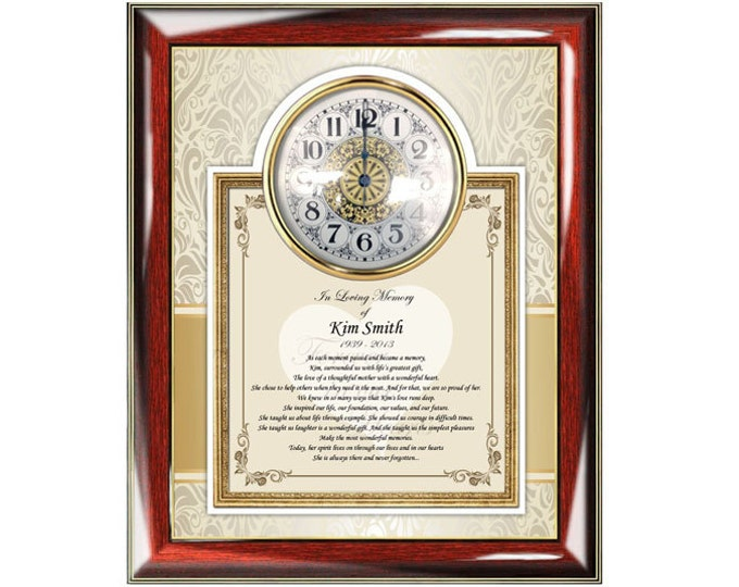 Memorial Sympathy Gift Frame Remembrance Bereavement Condolences Poem For Loss Of Loved One Sympathy Plaque
