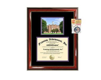 Knox College diploma frame Knox certificate framing graduation document college degree plaque graduate campus photo