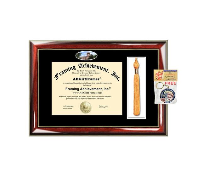 Slippery Rock University SRU diploma frame tassel holder case box tassle graduate certificate graduation campus degree certificate