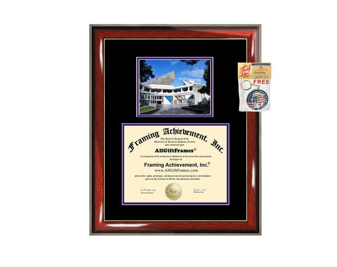 SFSU diploma frame California State University San Francisco certificate framing graduation Cal State document campus photo college plaque