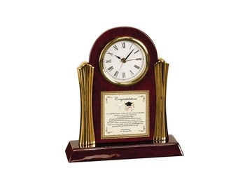 Medical School Graduation Gift Personalized Present New Doctor Physician Poetry Clock Optometry Dental Pharmacy College Present Graduate