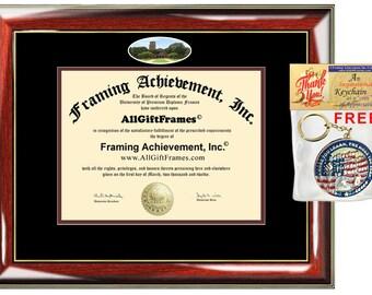 Midwestern State University diploma frame certificate MWSU school photo degree frames framing gift graduation plaque document graduate case