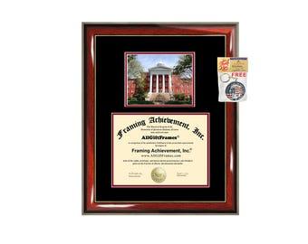 Wittenberg University Ohio diploma frame certificate framing graduation document plaque degree gift college graduate picture campus photo