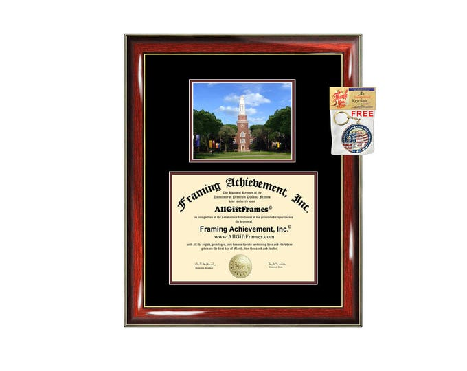 Brooklyn College diploma frame CUNY University degree frames framing gift graduation campus certificate Brooklyn plaque document college