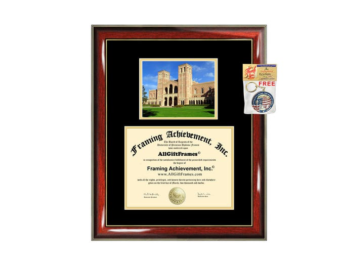 UCLA diploma frame University of California Los Angeles certificate framing graduation gift graduate document college plaque campus photo