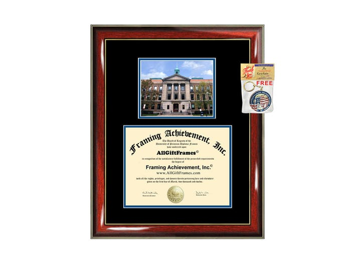 Simmons University College diploma frame campus degree certificate framing gift graduation frames plaque certification award document