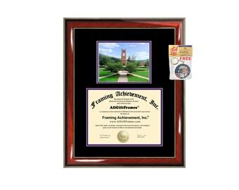 WCU diploma frame Western Carolina University framing graduation WCU campus photo certificate document college degree plaque graduate