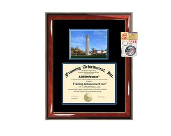 UCR diploma frame University of California Riverside certificate framing graduation gift graduate document college plaque campus photo