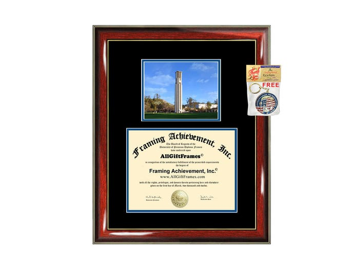 UCR diploma frame University of California Riverside certificate framing graduation gift graduate document college plaque campus photo
