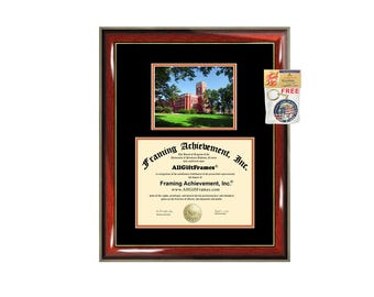 Ohio Northern University diploma frame ONU degree frames campus certificate framing gift graduation plaque document certification graduate