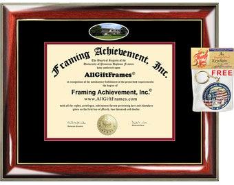 Indiana University Kokomo diploma frame IUK campus certificate degree graduation frames framing gift holder custom plaque document graduate