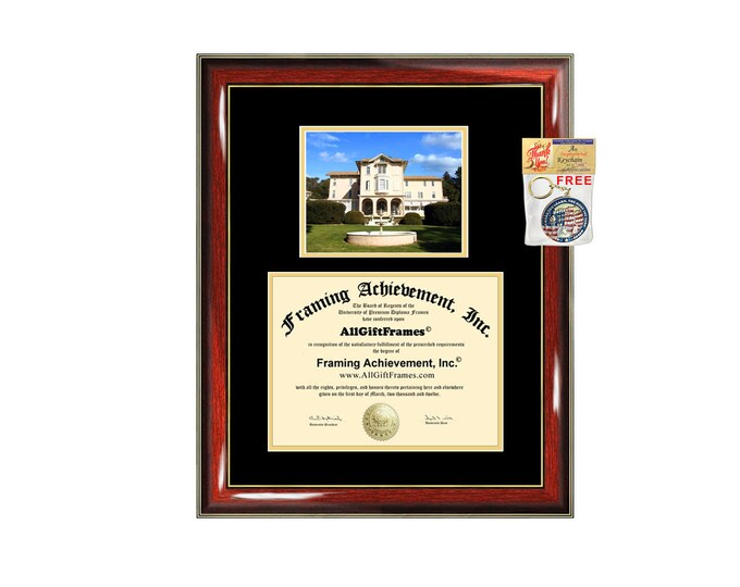 Notre Dame de Namur University NDNU degree frames diploma frame campus certificate framing gift graduation plaque document graduate