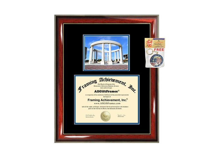 Diploma Frame Big Photo - Personalized University Diploma Frames ...