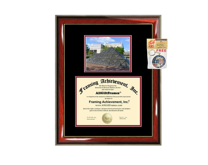 IUPUI diploma frame campus certificate Indiana University Purdue University degree frames framing gift graduation plaque document college