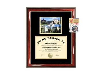 UCD diploma frame University of California Davis certificate framing graduation gift graduate document college plaque campus photo