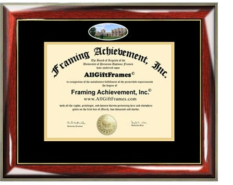 University of Northern Colorado diploma frame certificate framing graduation document plaque UNC Colorado degree gift graduate college