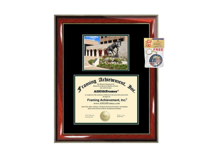 UTRGV diploma frame University Texas Rio Grande Valley Pan American certificate framing graduation campus plaque UTPA degree gift college