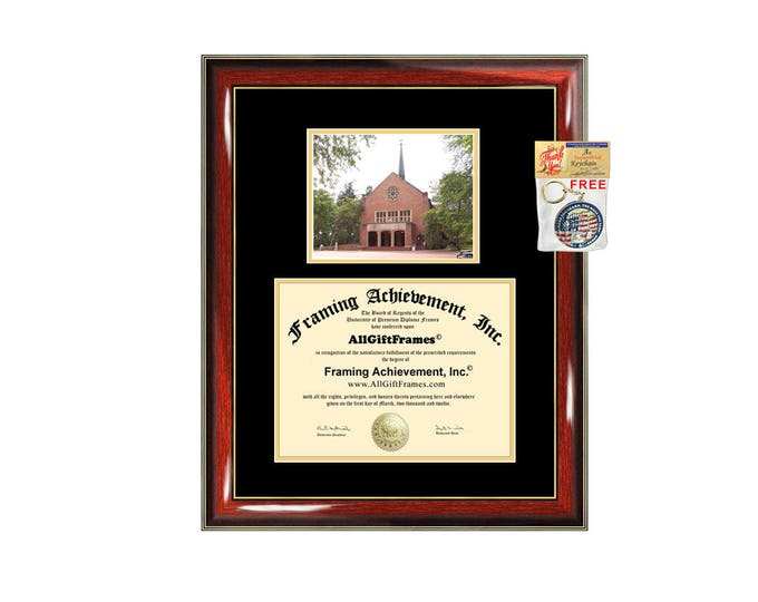 Pacific Lutheran University diploma frame campus certificate PLU degree frames framing gift graduation frames plaque document