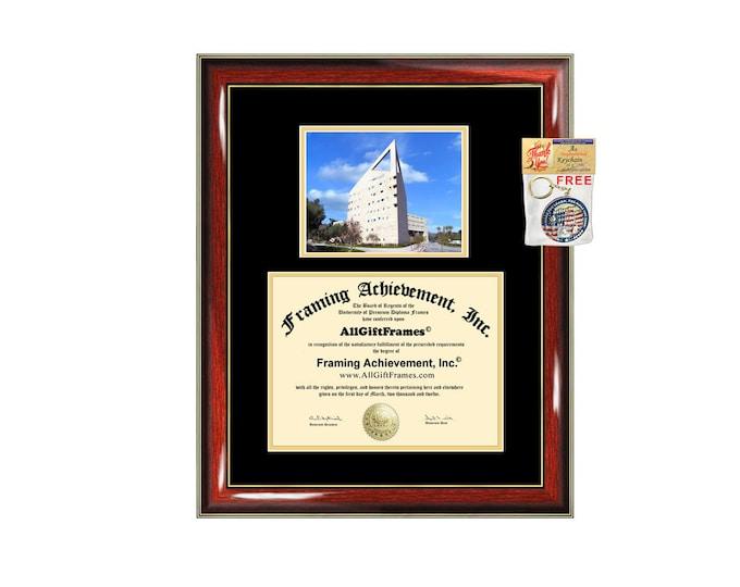 Cal Poly Pomona diploma frame California State Polytechnic University Pomona certificate graduation gift document college campus photo