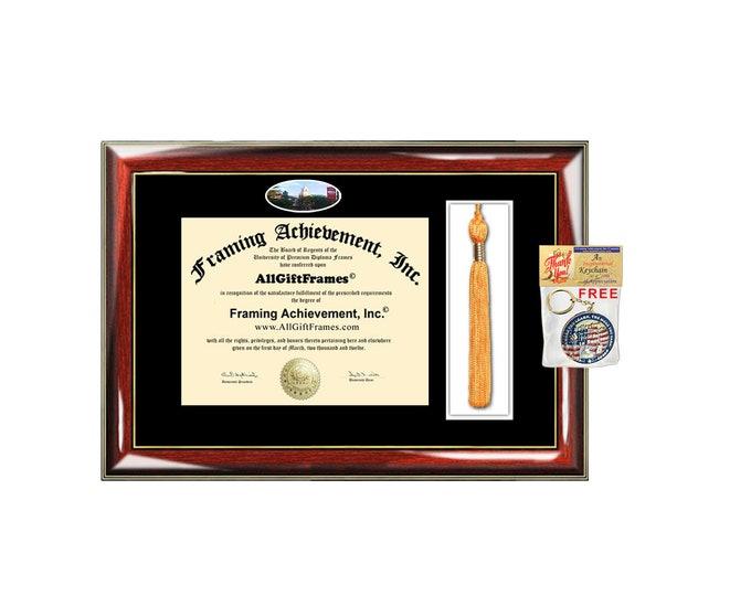 Shippensburg University diploma frames tassel frame holder case college school campus photo image degree framing tassel box certificate