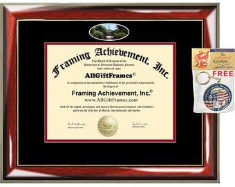 Rutgers University New Brunswick diploma frame campus school picture certificate degree award framing graduation gift plaque document holder