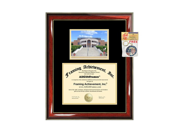 Kent State University diploma frame campus certificate KSU degree frames framing gift graduation plaque document graduate college alumni