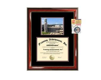 Missouri State University College diploma frame campus certificate MSU degree frames framing gift graduation plaque document certification