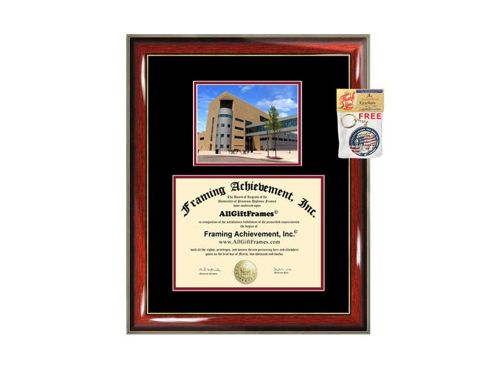 NJIT diploma frame campus certificate New Jersey Institute of Technology degree frames framing gift graduation plaque document certification